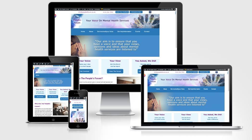 People's forum website design