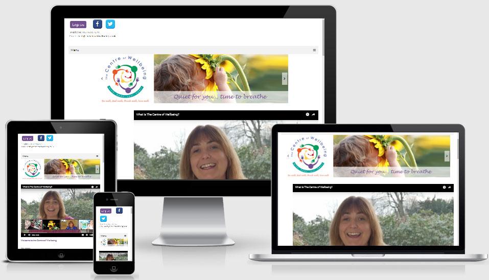 Mindfulness website design
