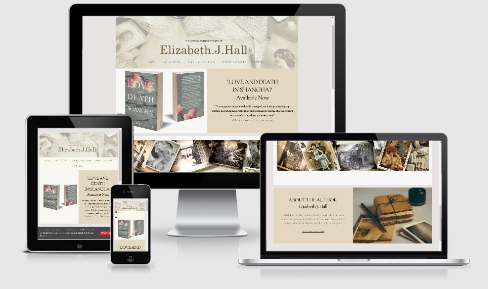 Elizabeth J Hall - Novelist Website